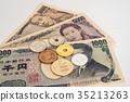 日元 现金 钞票 35213263