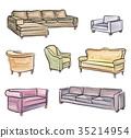 chair, armchair, furniture 35214954