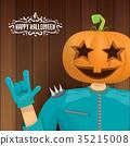 vector Happy halloween creative hipster party 35215008