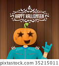 vector Happy halloween creative hipster party 35215011