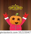 vector Happy halloween creative hipster party 35215047