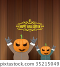 vector Happy halloween creative hipster party 35215049
