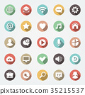 icon, web, flat 35215537