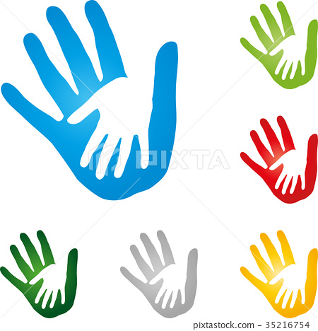 Two hands, people, couple, logo 35216754