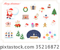 คริสต์มาส,ซานต้า,หน้าต่าง 35216872