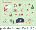 คริสต์มาส,ซานต้า,หน้าต่าง 35216873