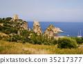 Tonnara de scopello and its irregular coasts 35217377