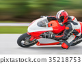 motorcycle practice racing 35218753