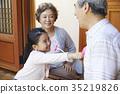 가족, 미소, 손녀 35219826