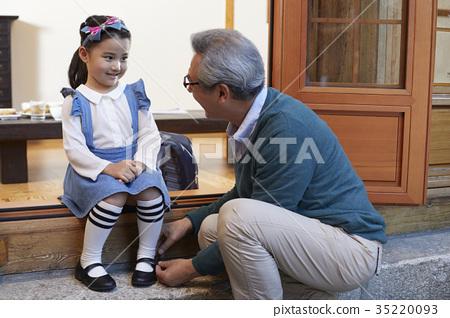 할아버지,손녀 35220093