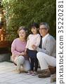 가족, 손녀, 실외 35220281