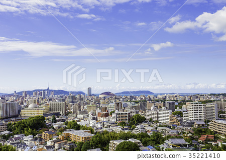 후쿠오카의 거리 풍경 35221410
