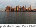 曼哈顿 建筑 建筑群 35221949