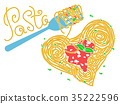 pasta, vector, banner 35222596