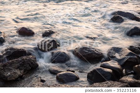黃昏的海邊 35223116