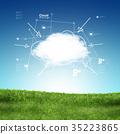 Cloud computing concept 35223865