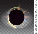 Solar eclipse, astronomical phenomenon - full sun 35223895