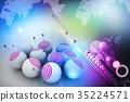 symbol of targeted marketing 35224571