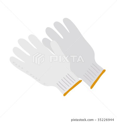 工作手套 棉手套 防災物資 35226944