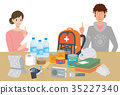 emergency supply, vector, vectors 35227340