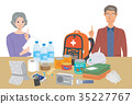 emergency supply, vector, vectors 35227767
