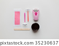 hair removal wax, epilator and safety razor 35230637