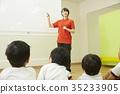 小学生 老师 教师 35233905