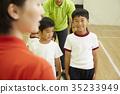 体操课教学 35233949
