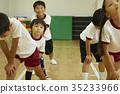 Gymnastics classroom instruction Kids preparation exercises 35233966