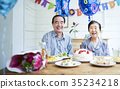 การฉลองของคู่รักเก่า 35234218