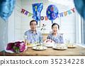 การฉลองของคู่รักเก่า 35234228