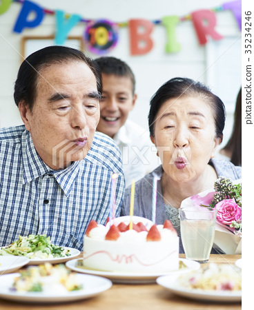 시니어, 노년, 노인 35234246