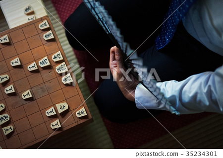 將棋 棋盤遊戲比賽 棋盤 35234301