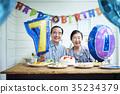 การฉลองของคู่รักเก่า 35234379