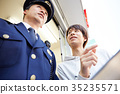 youngster, cops, policeman 35235571