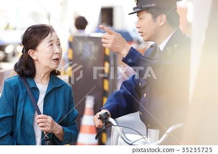 senior, cops, policeman 35235725