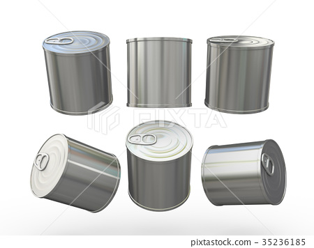 Aluminum blank food  tin can  with pull tab 35236185