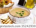 soup, cream, bowl 35242930