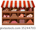 Meat farmer shop 35244703