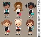 Schoolgirls 35244705
