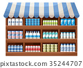 Dairy product farmer shop 35244707