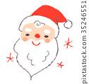 크리스마스, 이브, 얼굴 35246551