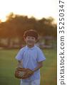 어린이,야구 35250347