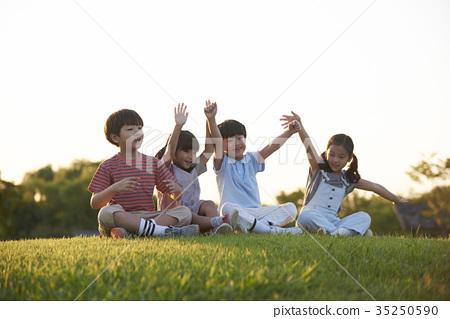 孩子們,公園 35250590