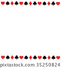 Playing card motif copy space Background transparent png · white background · vector square 35250824