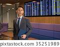 business man, airport, business 35251989