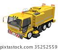 垃圾车 废物收集车 特种车辆 35252559