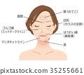 女人的脸皱纹美 35255661