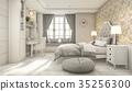 scandinavian classic children white bedroom 35256300