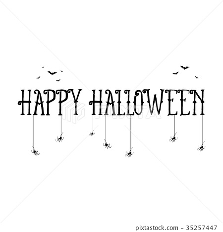happy halloween template for banner
